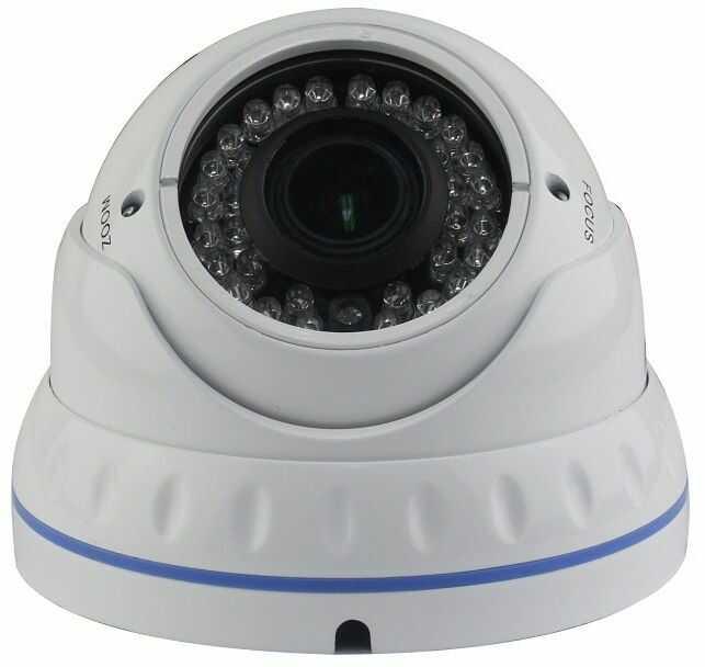 Kamera kopułkowa analogowa 1200TVL z ogniskową 2.8-12mm