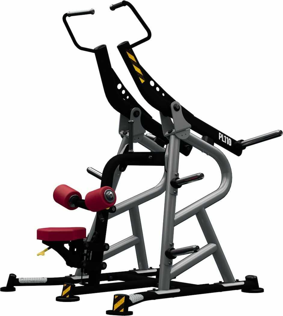 Maszyna półwolna do ćwiczeń mięśni grzbietu Lat Pulley Convergent PL110 BH Fitness