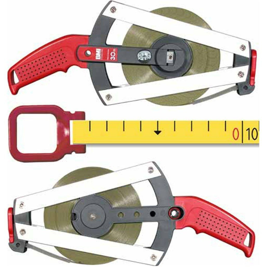 Ruletka BMI ISOLAN, ERGOLINE 30m bez rozbiegówki cm