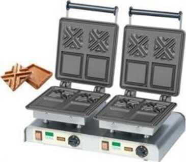 Gofrownica podwójna X-Waffle 400V / 4,4kW
