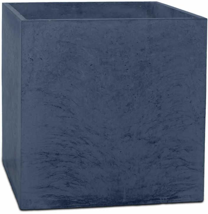 Donica betonowa BOX M 45x45x45 grafitowy