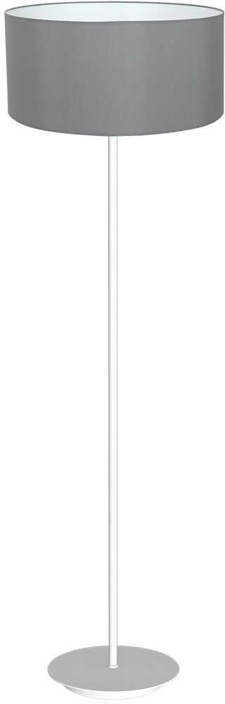 Milagro BARI GREY MLP4691 lampa podłogowa metalowa szara abażur tkanina 1xE27 150cm