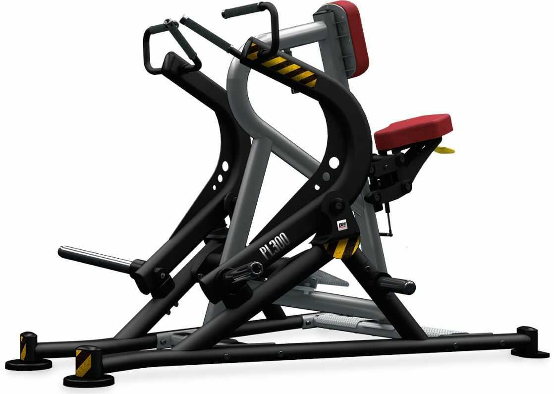 Maszyna półwolna do ćwiczeń mięśni grzbietu Seated Row PL300 BH Fitness