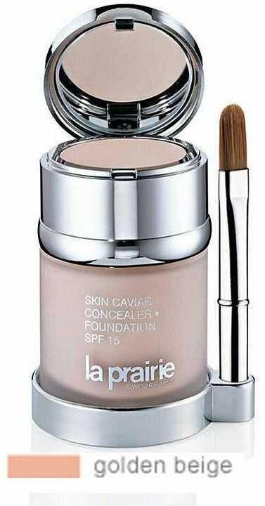 La Prairie Skin Caviar podkład i korektor SPF 15 odcień Golden Beige 30 ml