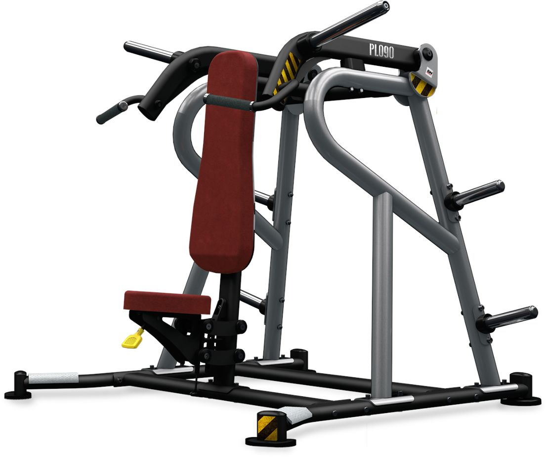 Maszyna półwolna do ćwiczeń mięśni ramion Shoulder Press Convergent PL090 BH Fitness