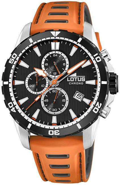 Zegarek Lotus L18600-2 - CENA DO NEGOCJACJI - DOSTAWA DHL GRATIS, KUPUJ BEZ RYZYKA - 100 dni na zwrot, możliwość wygrawerowania dowolnego tekstu.
