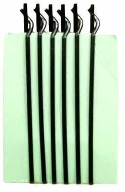 IzA ZO/6 spinki zapinki do włosów czarne 6 sztuk