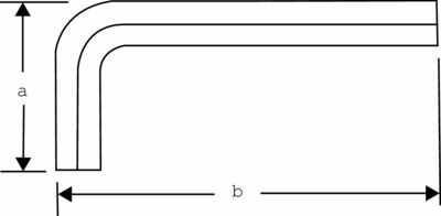 Zestaw długich kluczy imbusowych, nierdzewnych z kulką, metrycznych, 9 szt. Bahco [BE-9770i]