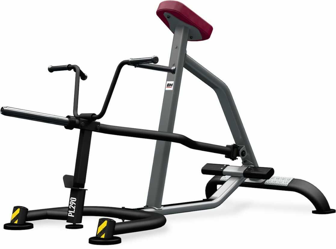 Maszyna półwolna do ćwiczeń mięśni grzbietu T-Bar Row PL290 BH Fitness