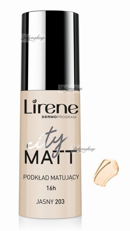 Lirene - City Matt - Fluid matujący - 203 - JASNY