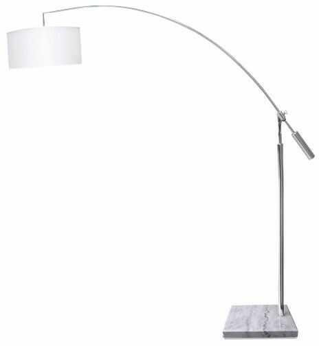 Lampa podłogowa Bianca AZ0005 AZzardo biała oprawa w nowoczesnym stylu