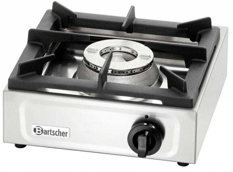 Bartscher Kuchnia gazowa 1 palnikowa 6500W - kod 1059503