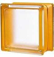 Luksfer Mini Apricot pustak szklany 14,7x14,7x8 cm