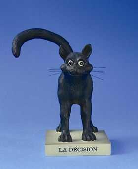 "FIGURKA - Czarny Kot - ""LA DÉCISION"" (DECYZJA) - duża CD05"