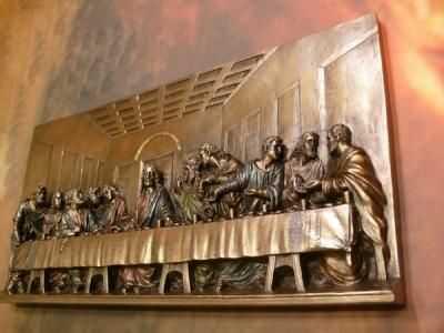 Ostatnia Wieczerza Płaskorzeźba