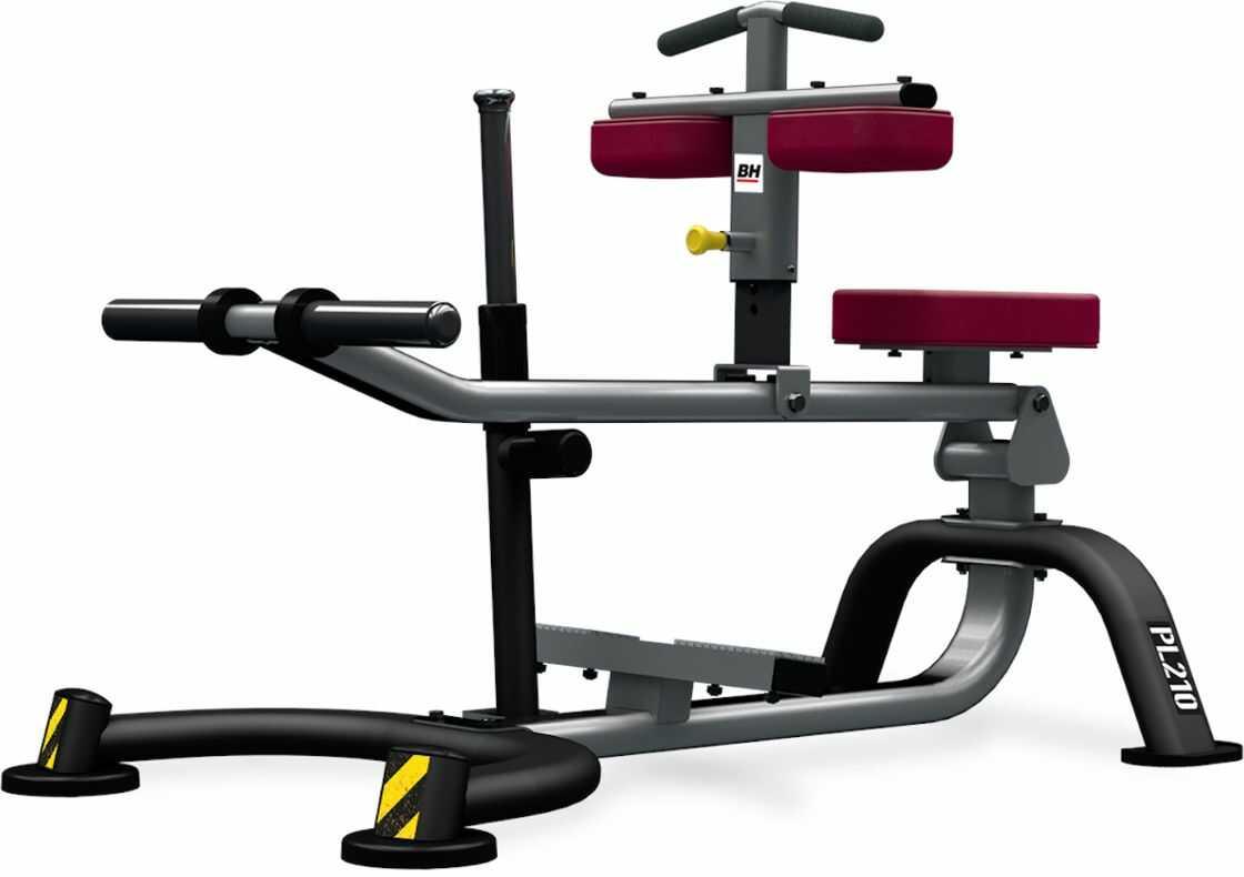 Maszyna półwolna do ćwiczeń mięśni łydek Seated Calf PL210 BH Fitness