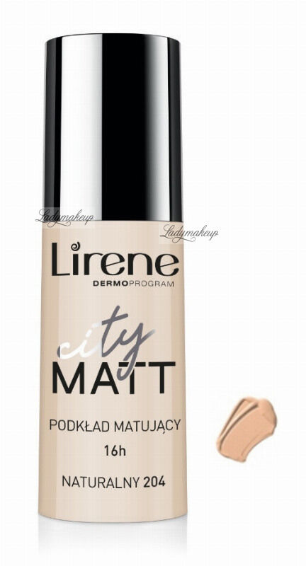 Lirene - City Matt - Fluid matujący - 204 - NATURALNY