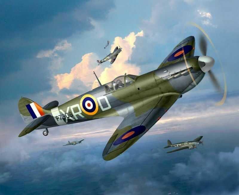 Model set Spitfire MkII