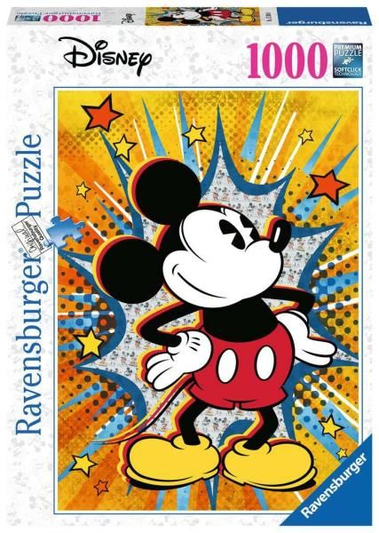 Puzzle 1000el Myszka Mickey Retro 153916 RAVENSBURGER (RAV 153916)