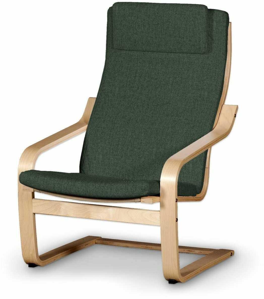 Poduszka na fotel Poäng II, leśna zieleń szenil, Fotel Poäng II, City