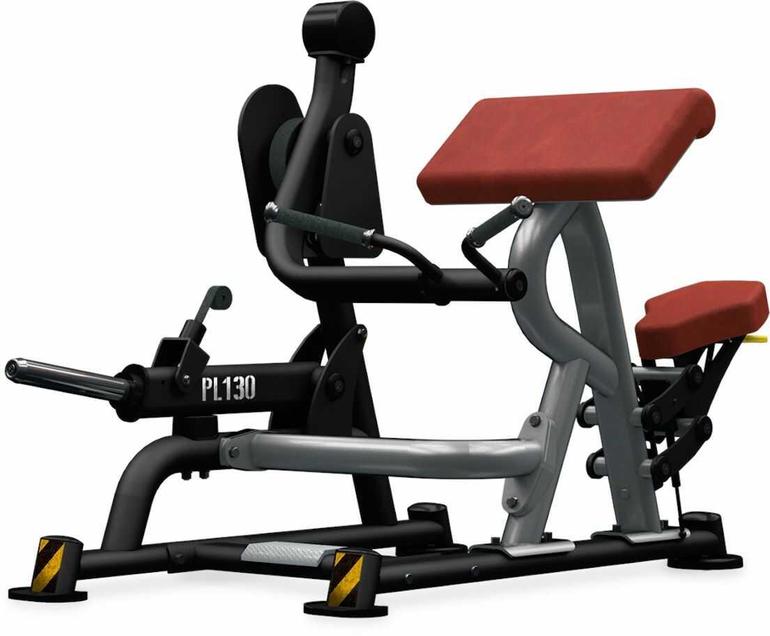 Maszyna półwolna do ćwiczeń mięśni bicepsu Biceps Curl PL130 BH Fitness