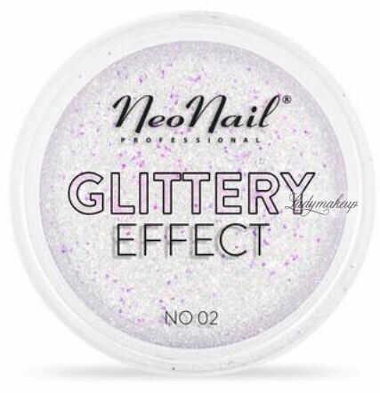 NeoNail - GLITTERY EFFECT - Gruby pyłek do stylizacji paznokci - Efekt brokatu - 02