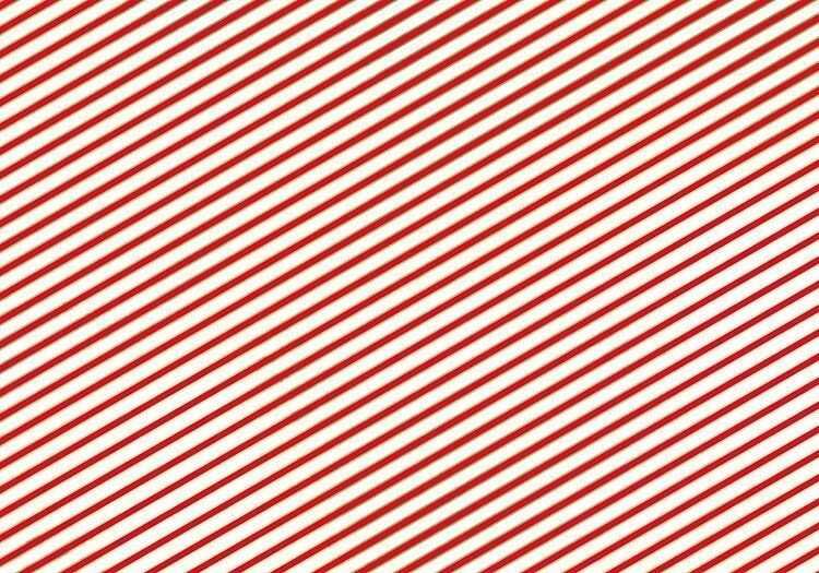 Papier do pakowania biało-czerwone paski 1 rolka 70x200cm PAP16