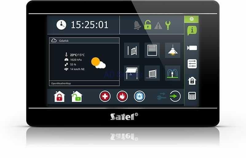 """INT-TSI-B Manipulator graficzny z ekranem dotykowym 7"""" Satel"""