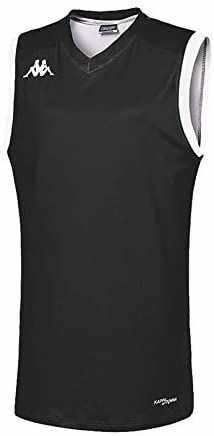 Kappa atrani Tank Wo T-shirt damski czarny czarny rozmiar: XXL