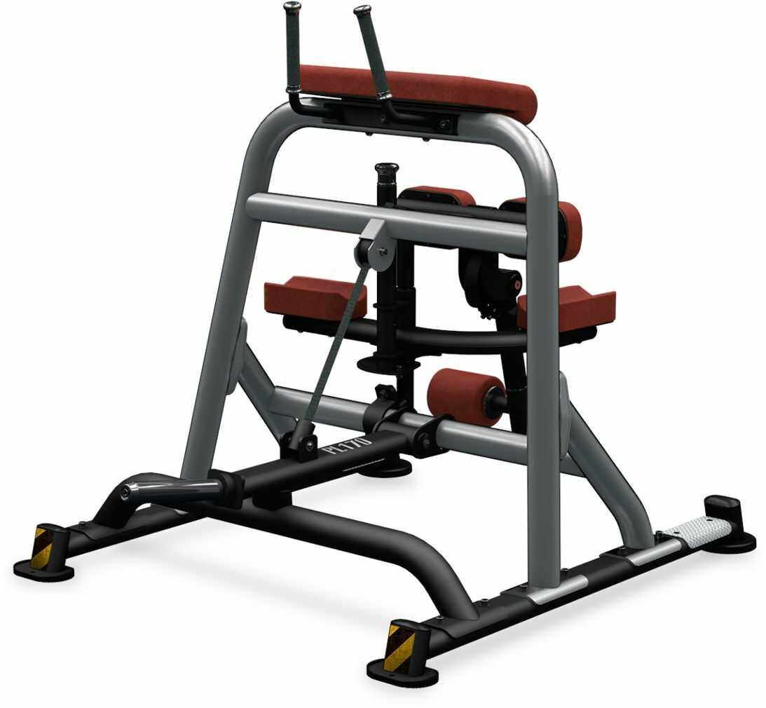Maszyna półwolna do ćwiczeń mięśni nóg Femoral PL170 BH Fitness