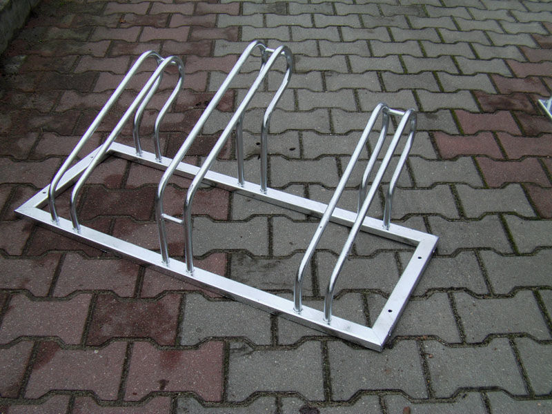 Stojak rowerowy , na rowery ST, 3 stanowiska