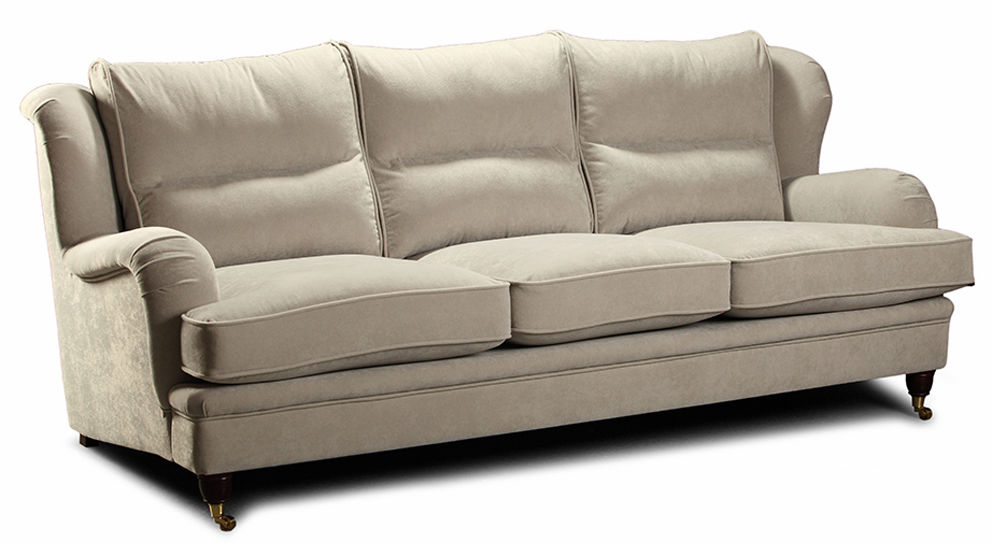 Sofa EsteliaStyle Perle 2-os., tkanina, skóra naturalna, eko skóra, opcja spania