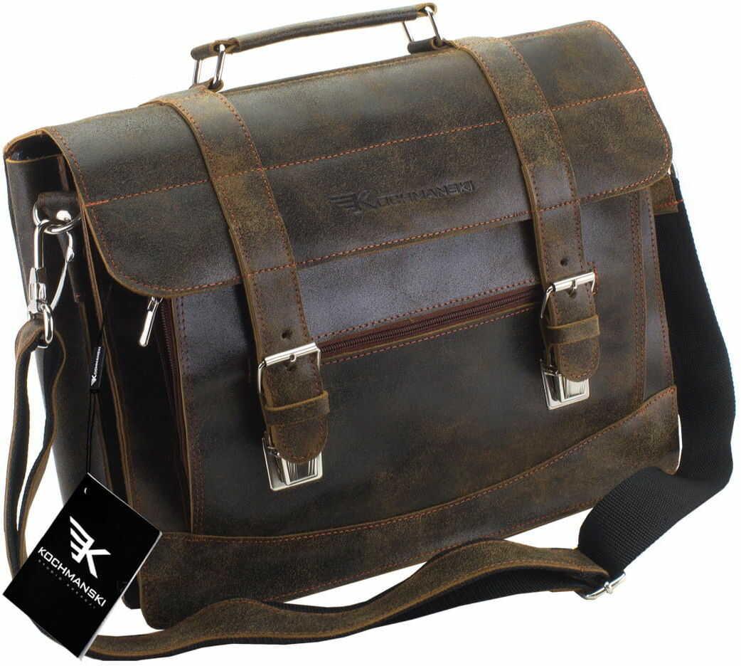 KOCHMANSKI torba teczka skórzana męska na ramie 2135