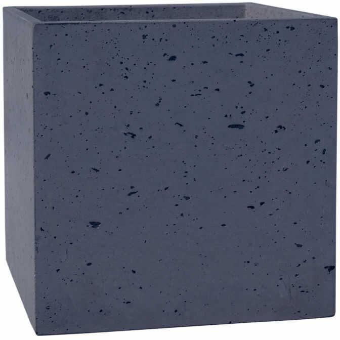 Donica betonowa BOX S 35x35x35 grafitowy