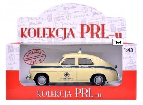 Pojazd PRL Warszawa Karetka (GXP-752099)