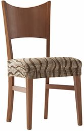 Zebra sofa tekstylna, brązowa