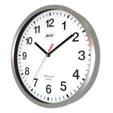 Zegar wodoszczelny z metalową ramką 30cm