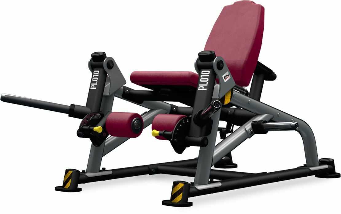 Maszyna półwolna do ćwiczeń mięśni czworogłowych Leg Extension PL010 BH Fitness