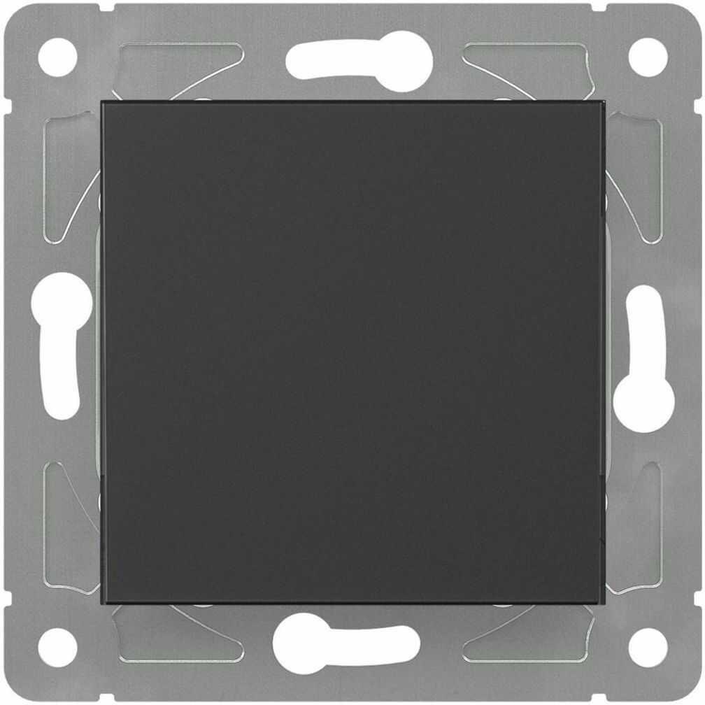 Włącznik pojedynczy EDG1006W czarny LEXMAN