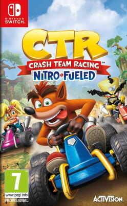 Gra Crash Team Racing Nitro-Fueled (Nintendo Switch)