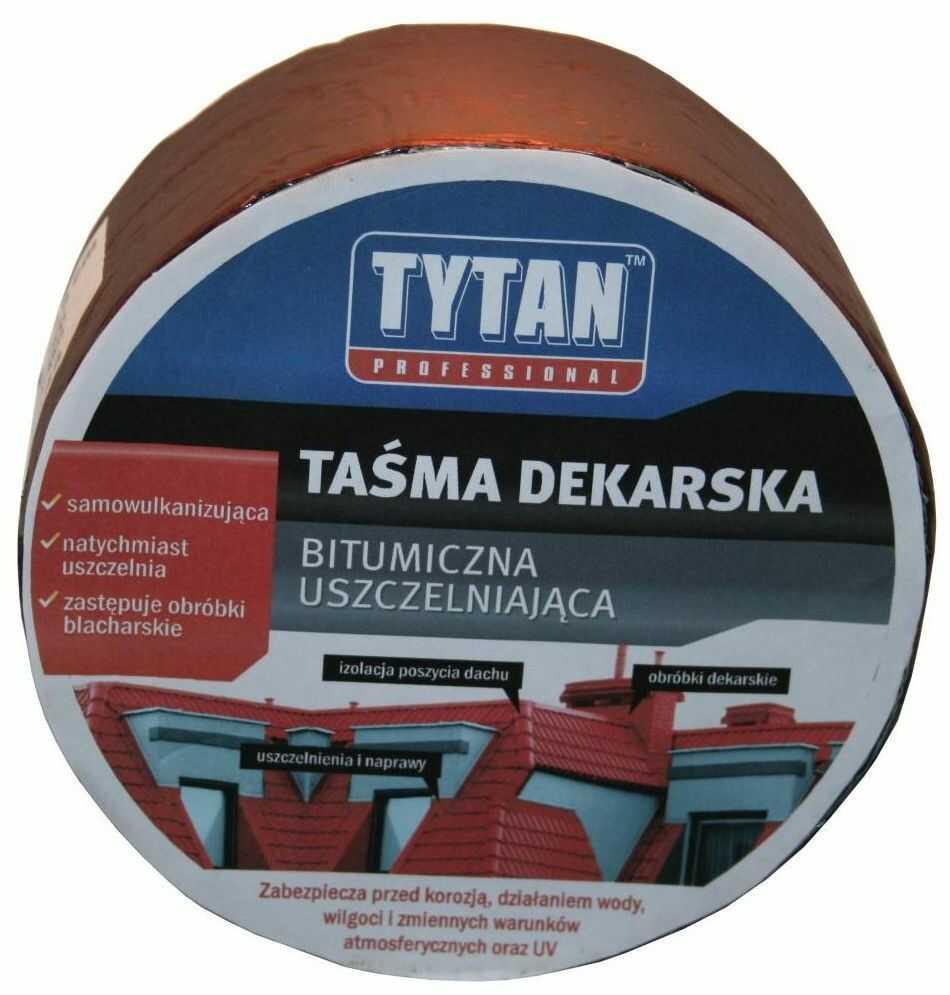Taśma uszczelniająca dekarska srebrna 30 cm/10 m Tytan Professional