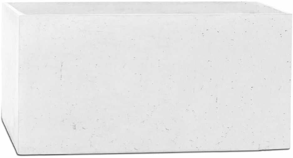 Donica betonowa BOX XL 90x45x45 biały
