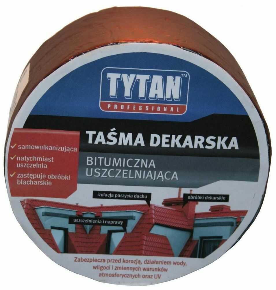 Taśma uszczelniająca dekarska srebrna 10 cm/10 m Tytan Professional