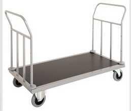 Wózek hotelowy z podwójnym uchwytem 1440x660x(H)950 mm 49 kg