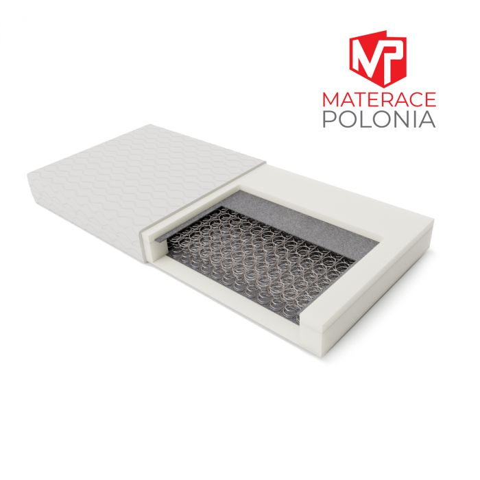 materac bonellowy ARYSTOKRATA MateracePolonia 200x200 H2 + DARMOWA DOSTAWA