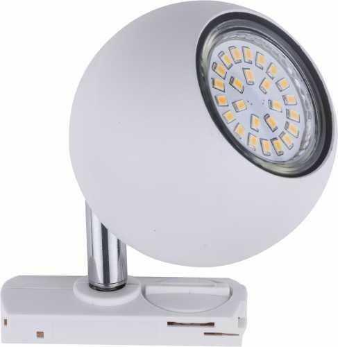 Tracer reflektor spot 1-punktowy do szyny biały 4040