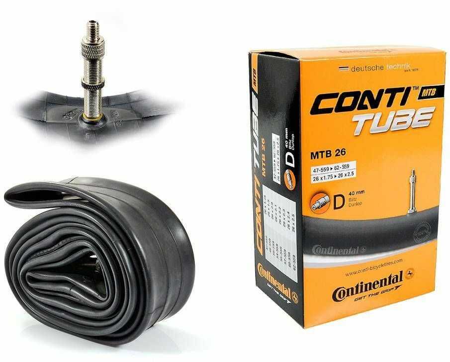 Dętka Continental MTB 26'' x 1,75'' - 2,5'' wentyl dunlop 40 mm