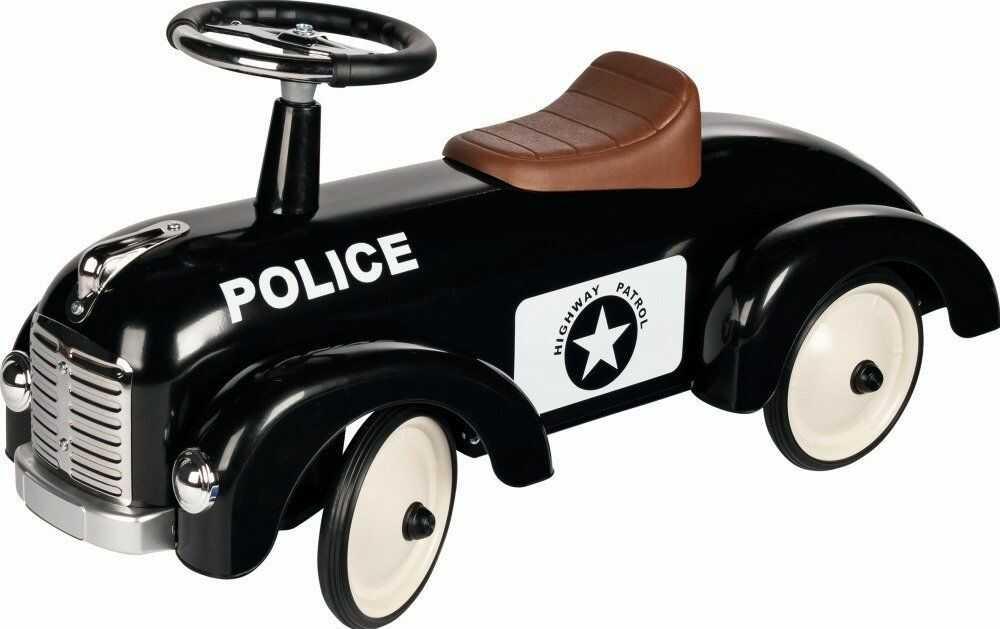 Metalowy jeździk dla dzieci Policja 14177-Goki, pojazdy dla dzieci