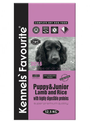 Kennels Favourite Puppy Lamb Rice 20kg