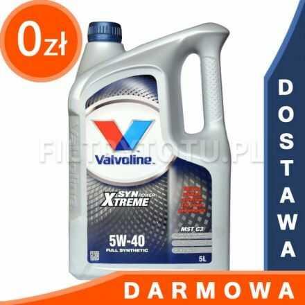 Valvoline Synpower Extreme MST C3 5W40 5l DARMOWA DOSTAWA